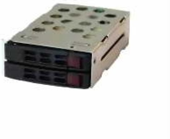 Supermicro Dual 2.5'' HDD Kit 2.5'' Zwart
