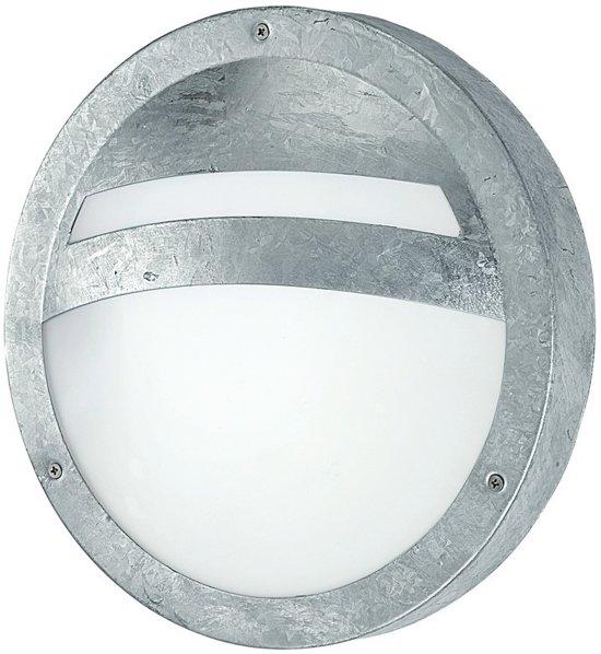 Eglo sevilla buitenverlichting wand plafondlamp 1 lichts zink - Kleur grijs zink ...