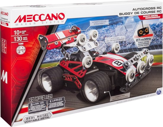 Meccano Autocross RC in Vieux-Genappe