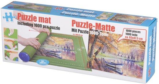 Puzzelmat + puzzle, 1000pcs in Merkelbeek