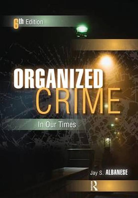 organized crime essays
