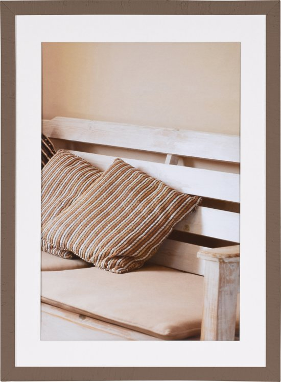 henzo driftwood fotolijst fotomaat 50x70 cm bruin. Black Bedroom Furniture Sets. Home Design Ideas