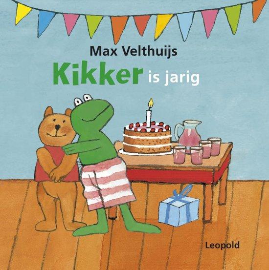 Bol Com Kikker Is Jarig Max Velthuijs 9789025865153