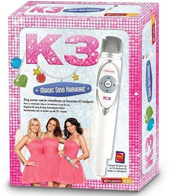 Karaoke Set K3 met 30 Liedjes