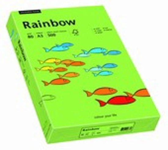 Rainbow gekleurd papier A4 160 gram 76 groen 250 vel