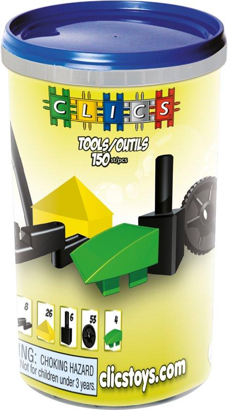 Clics Koker 150 Accessoires in 1 - Constructie blokken in Klatering