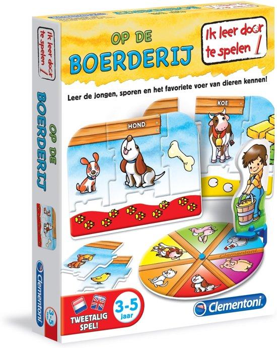 Leerspel Op De Boerderij   3-5 in Eede
