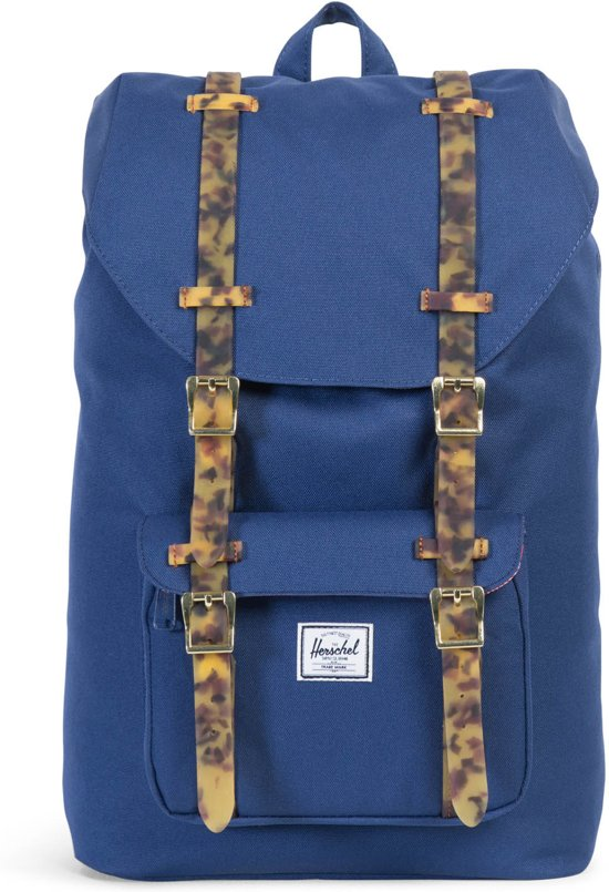 Herschel Supply Co. Little America Mid-Volume - Rugzak - Twilight Blue / Tortoise Shell Rubber in Beffe