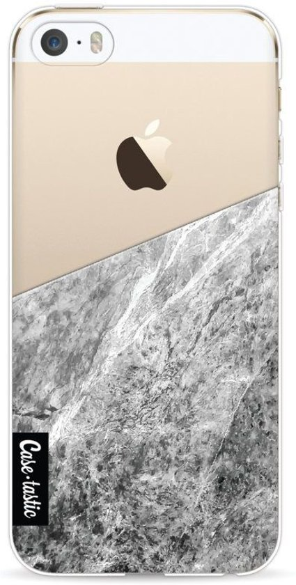 Casetastic Softcover Apple iPhone 5 / 5s / SE - Marble Transparent in Balâtre