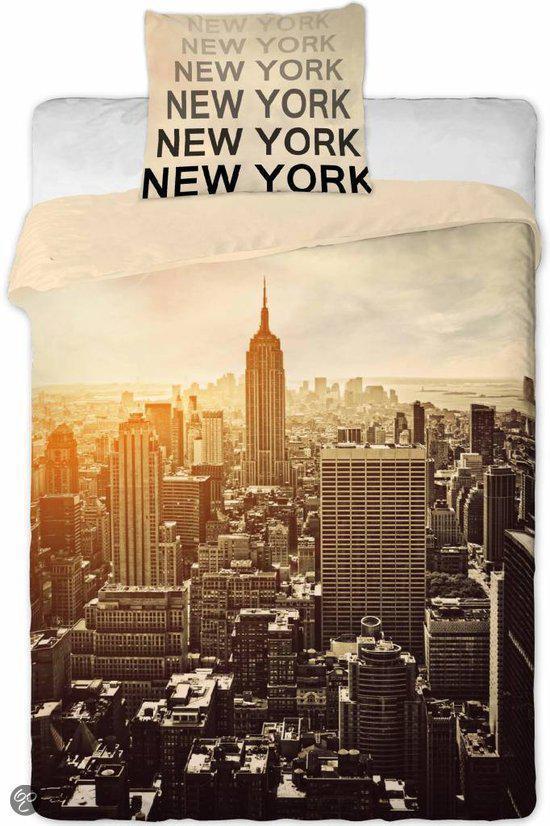 bol com   New York Dekbedovertrek Manhattan   140 x 200 cm
