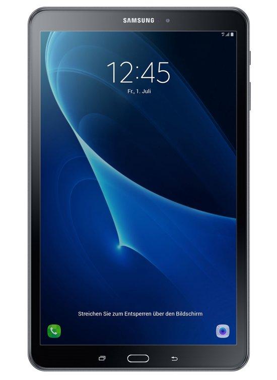Samsung Galaxy Tab A 10.1 LTE (2016) zwart