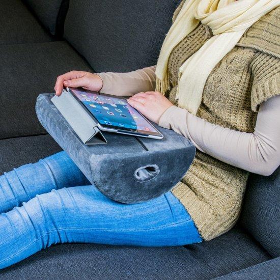bolcom memory foam tablet laptop kussen traagschuim ipad steun kussen schootkussen nekku