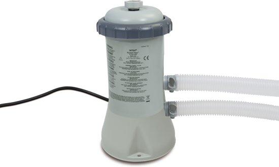 Intex zwembad filterpomp 12v 2271 l uur intex for Filterpomp zwembad