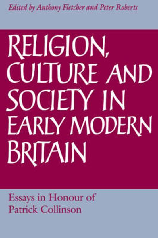 p. collinson elizabethan essays Cultural] history with the politics put back in, or an account of political processes  which is also social' (elizabethan essays by p collinson.