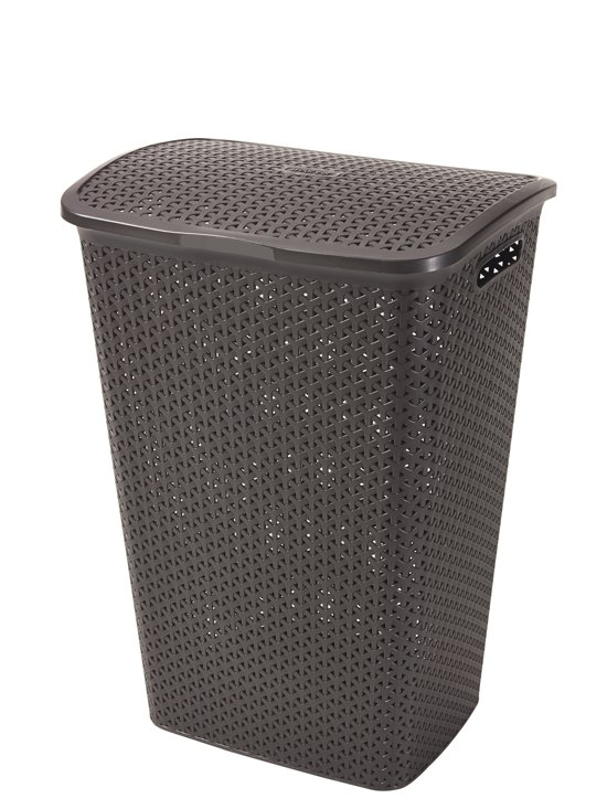 bolcom  Curver My Style Wasbox 55l  Donker Bruin # Curver Wasbox_050042
