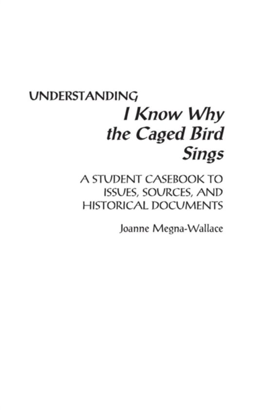 a review of the book i know why the caged bird sings by maya angelou The first of maya angelou's seven autobiographies, 'i know why the caged bird sings (ala) listed i know why the caged bird sings as the third book on the.