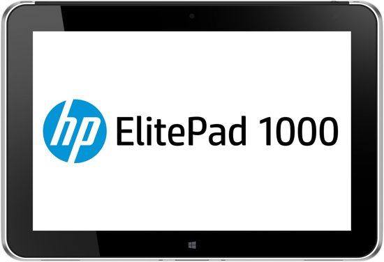 HP ElitePad 1000 G2 Rugged 128GB 4G Zwart