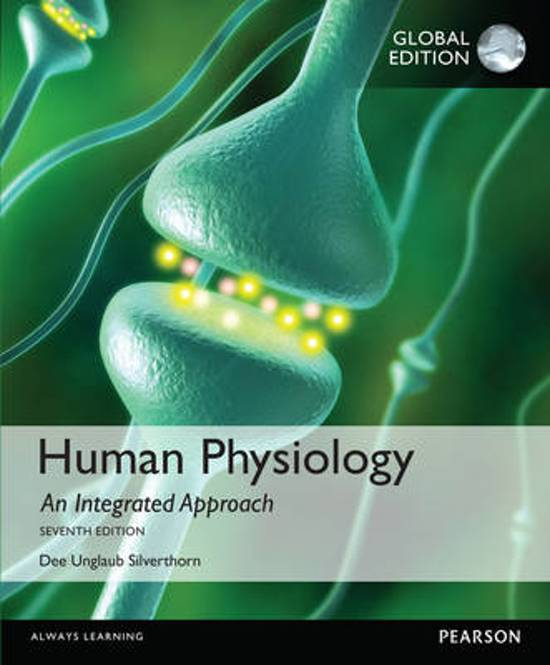 Silverthorn human physiology
