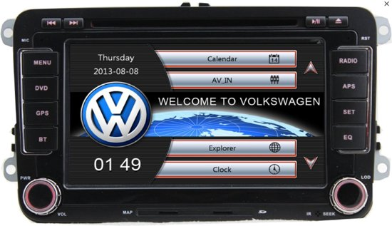 rns 510 look vw seat skoda bluethooth gps dvd. Black Bedroom Furniture Sets. Home Design Ideas