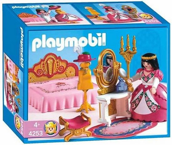Playmobil koningsslaapkamer 4253 playmobil for Playmobil chambre princesse