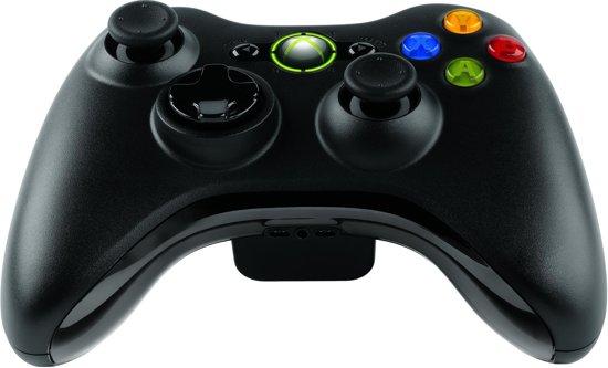 Microsoft Wireless Controller - Xbox 360 - Zwart in Izel