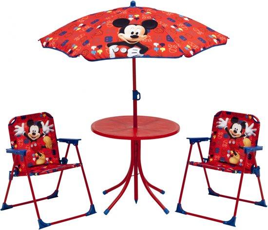 Disney Mickey Mouse Outdoor Patio Set Rood in Baarle-Hertog