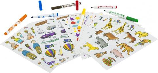 Crayola Hobby: stickerset (S) in Vinkenbroek