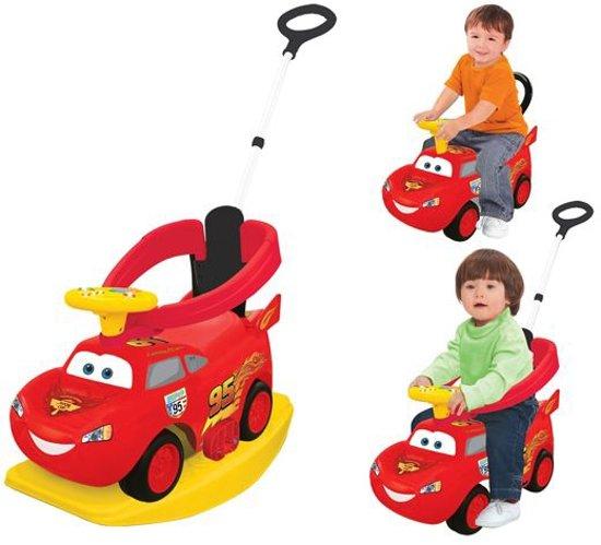 Cars McQueen - 4-in-1 Loopauto - Rood in Meerstad