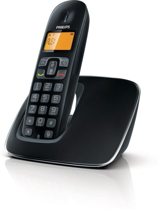 Philips CD1901B - Single DECT telefoon - Zwart