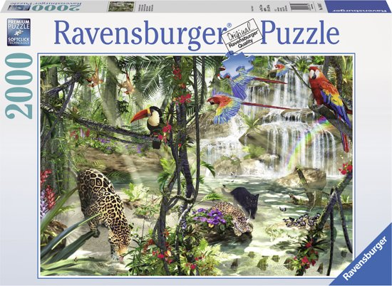 Jungle Slaapkamer Knutselen : Ravensburger Puzzles 2000 Pieces