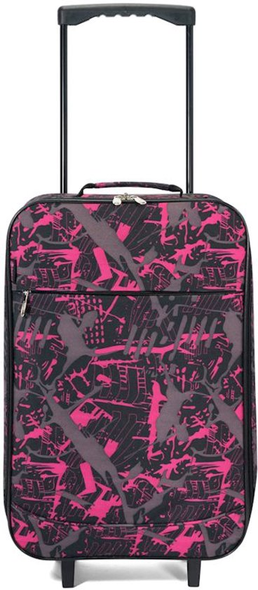 Benzi opvouwbare koffer Calp roze in Leval-Chaudeville
