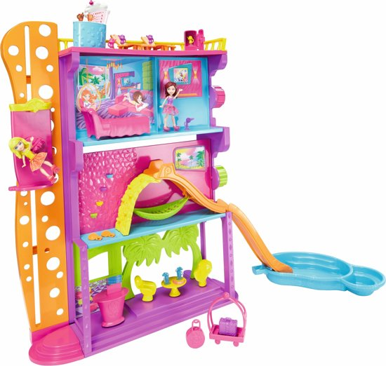 Polly Pocket Stick 'n Play Hotel