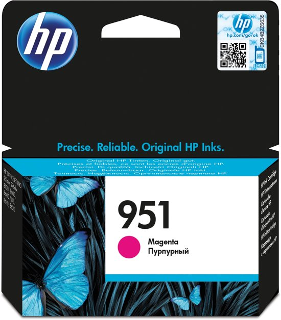 HP 951 - Inktcartridge / Magenta (CN051AE)