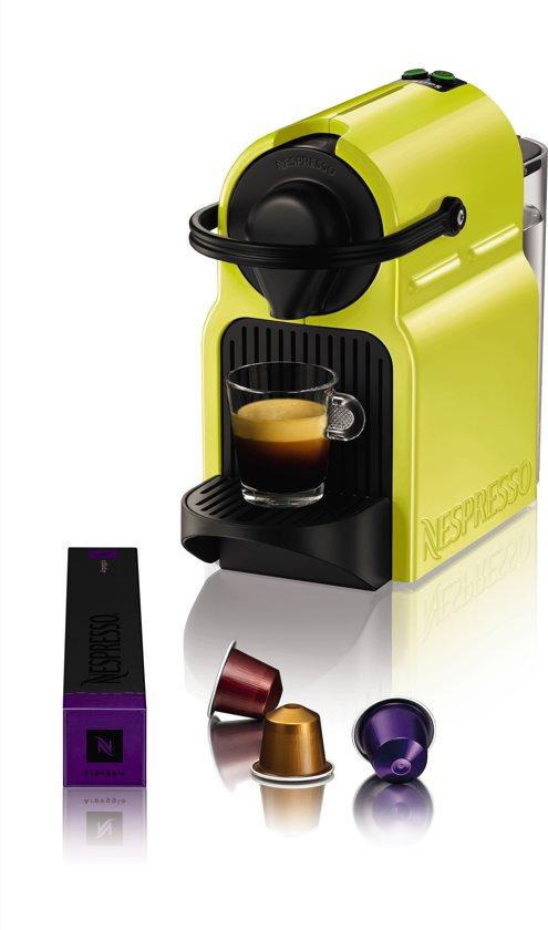 nespresso krups inissia xn1002 geel. Black Bedroom Furniture Sets. Home Design Ideas