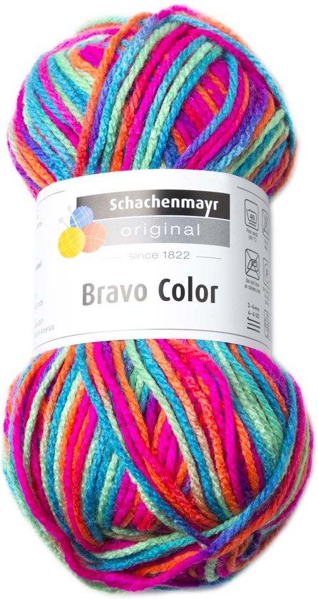 Breiwol Bravo color klassiek kleur 00095 in Eerde