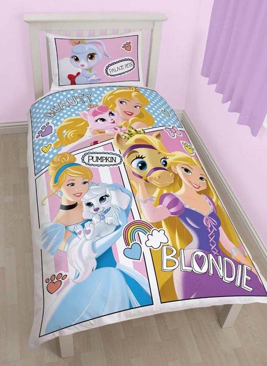 Prinsessen slaapkamer : bol com Prinsessen Dekbedovertrek met Dieren ...