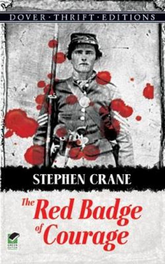 a report on the red badge of courage a war novel by stephen crane Title color is not the only significant thing shared by stephen crane's the red badge of courage and nathaniel hawthorne's the scarlet though a war novel.