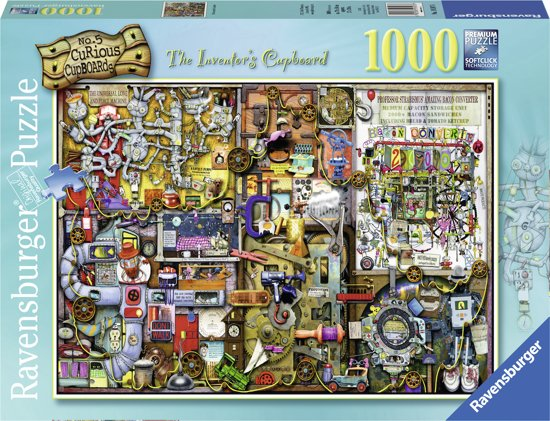 Ravensburger Colin Thompson: The inventors cupboard - Puzzel van 1000 stukjes in Belgeren