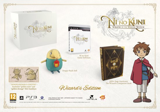 Ni no Kuni: Wrath of the White Witch Wizard's Edition