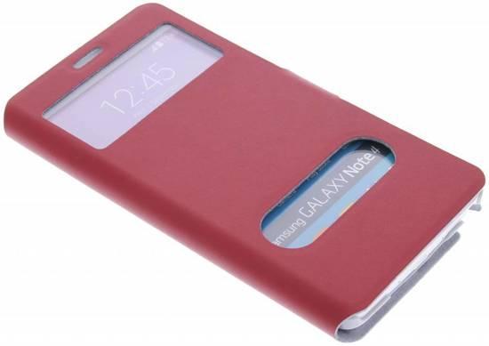Rode Keukenapparaten : bol.com Rode stijlvolle booktype hoes met venster – Samsung Galaxy