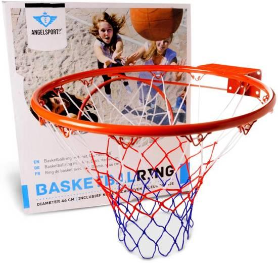 Longfield Basketbalring 46 cm - Oranje