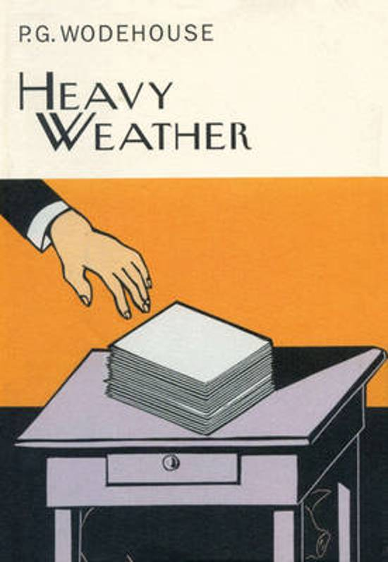 P.G. Wodehouse HEAVY WEATHER - 1st ed. (1933) RARE Limited Printing TRUE 1st ed