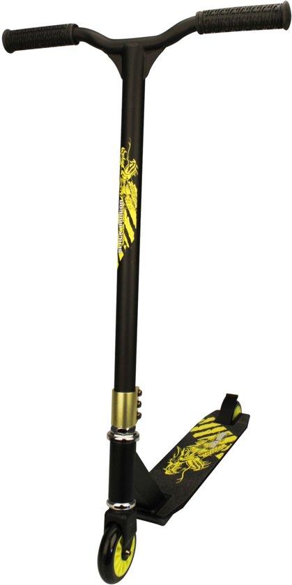 Nijdam Stunt Scooter - Zwart/Lime in Kameren