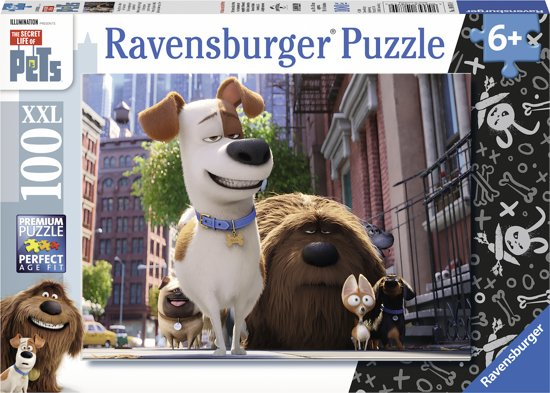 Ravensburger: Secret Life of Pets. Puzzel van 100 stukjes in Tildonk