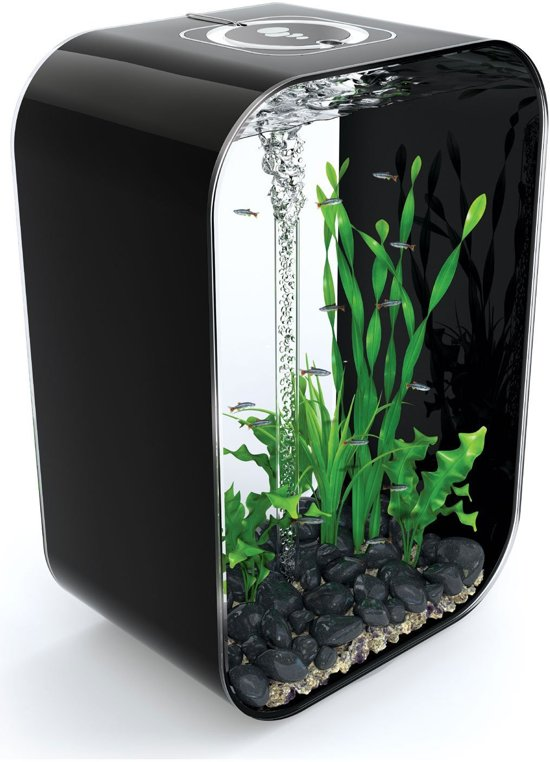 biorb life aquarium 60 liter zwart. Black Bedroom Furniture Sets. Home Design Ideas