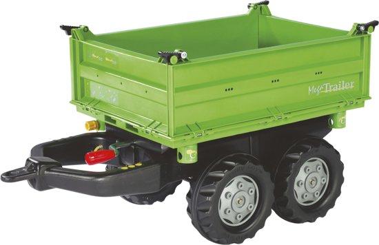 Rolly Toys Aanhanger - Rolly MegaTrailer Deutz
