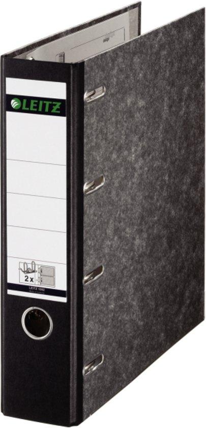 leitz giro bank ordner formaat a4 rug 75mm karton zwart. Black Bedroom Furniture Sets. Home Design Ideas