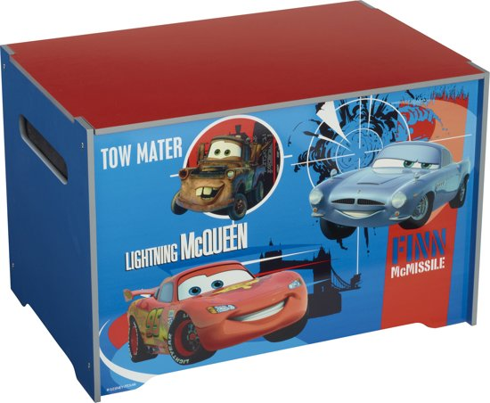 Cars speelgoedkist opbergsysteem for Boeken opbergsysteem