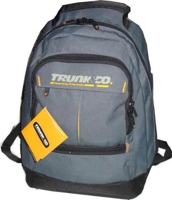 Backpack Trunk&Co | Samsonite | Donkergrijs Zwart | 23 ltr in Kie