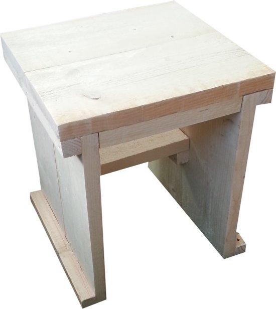 Krukje van steigerhout for Bouwpakket steigerhout